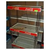 "3 Tier Plastic Coke Display - 53"" x 31"" x 18"""