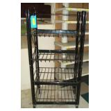 "4 Tier Black Display Rach - 50"" x 25"" x 16"""