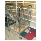 "Rolling Basket Display - 44"" x 27"" x 28"""