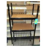 4 Tier Rolling Metal Display - 50 x 24 x 16