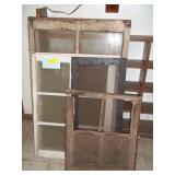 Lot of Wood Framed Windows