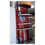 "Round Front 5 Tier Display Rack - 90"" x 28"