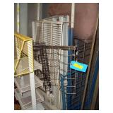 Pallet of Display Racks & Large US Mailbags