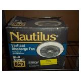 Nautilus New in Box Vertical Discharge Fan