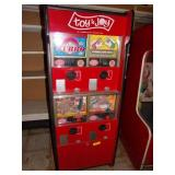 Toy & Joy Vending Machine 56 x 24 x 24