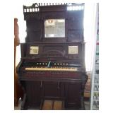 Late 1800s East Lake Style Organ W/ Triple Beveled