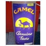 Working Camel Light Up Sign 23 x 11
