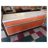 Grocery Counter W/ Formica Top - 34 x 78 x 23