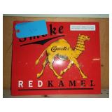 "Red Camel Cigarette Metal Sign 11"" x 13"""
