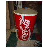 Used Rolling Coke  Drink Cooler Display