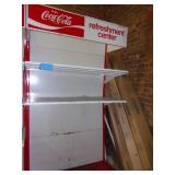 4 Tier Metal Coke Drink Display 86 x 48 x 24