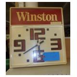 Battery  Operated Winston Clock - 18 x 17