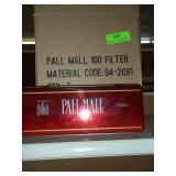 5 Pall Mall Tin Cartons- New