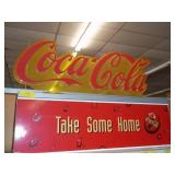 "Coca-Cola Shelf Sign 24"" x 36"""