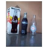 Coke Radio - Original Box & Palestine Coke Bottle
