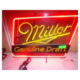 "Miller Genuine Draft Neon - Works 24"" x 19"""