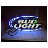 "Bud Light Neon - Works - 28"" x 14"""