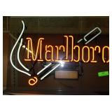 "Marlboro Flashing Neon - Works - 28"" x 21"""