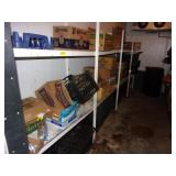 Walkin Cooler Shelving W/ Contents