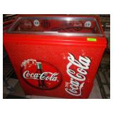 "10 Slot Coke Dispenser 35"" x 16"" x 39"""