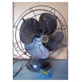 "Robbins & Muers 15""Antique Oscillating Fan - Works"