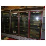 Hussman Triple Door Freezer 80 x 77 x 34