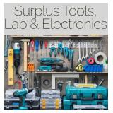 Monthly Industrial Tools & Lab Surplus