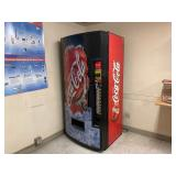 Coca Cola Vending Machine Cans.