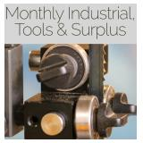 Short Notice: Industrial, Tools & Surplus