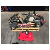 Go Kart. Tag Touch And Go, Electric Start,  125cc.