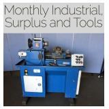Industrial Surplus, Tools and Store Returns Sale