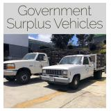 San Diego Community College Surplus Vehicles
