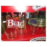 Green Bay Glasses and Beer Trays