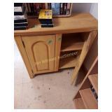 wood cabinet  no shipping