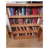 Book Case and All Books  no shipping
