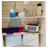 Home Accessories in Closet