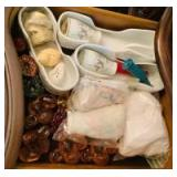 Dinneware and Accessories in Drawer and Cabinet