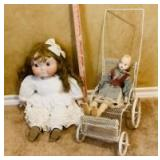 2 Dolls and Accessories
