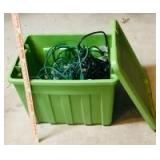 Tote with Lights and Cords
