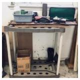 Garden Tool Rack and Garage Assortment