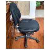 Rolling Office Chair and File Folders