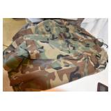 Army Camo, used, 3 Top Shirts and one Trouser