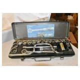 "1/2"" Drive Socket Set, Metal Case"
