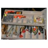 Tackle Box & Tackle,Lures,Spoons, Rigs