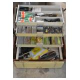 Large Tackle Box full of Fishing Goods,