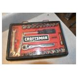 Assorted Craftsman Tools, A Lot of Sockets