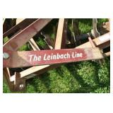 "Leinbach Disc. 18"" Blades, Excellent"