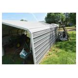 Carport, Very Nice, 18 x 20 Ft. Sides to ground