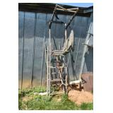 Ladder Style tree stand single seat