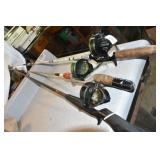 Rods & Reels, 3,3-Johnson reels,110,110B,